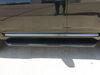 "AeroTread Running Boards w/ Custom Installation Kit - 5"" Wide - Aluminum - Black Stainless Cab Length AA2061025 on 2018 toyota 4runner"