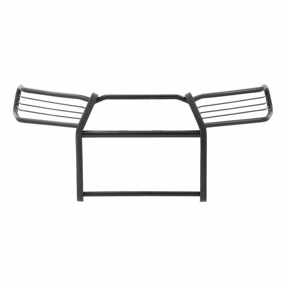 Aries Grille Guard - 1 Piece - Semi-Gloss Black Powder Coated Steel Steel AA2066