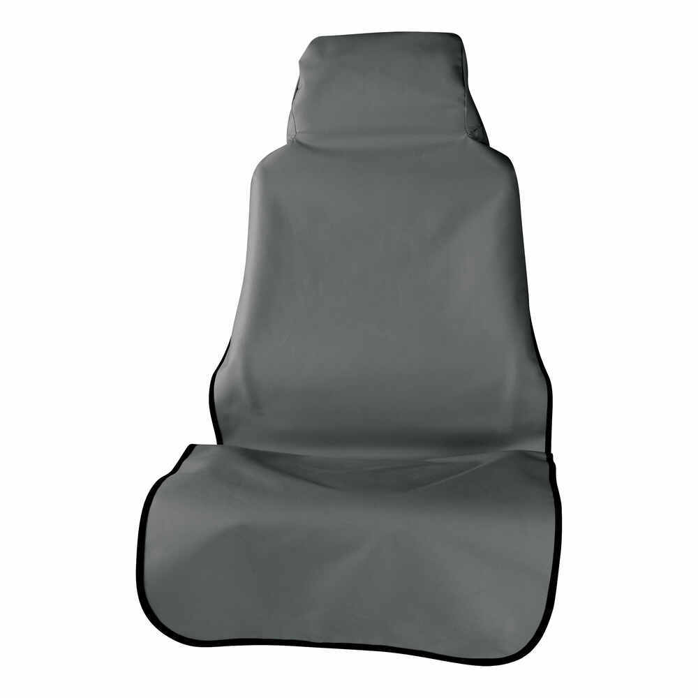 Aries Automotive Seat Defender Bucket Seat and Headrest Protector - Universal Fit - Gray Universal Fit AA3142G