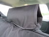 Aries Automotive Seat Defender Bench Seat Protector with Headrest Covers - Universal Fit - Black Adjustable Headrests AA3146B