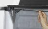 lomax tonneau covers fold-up aluminum hard cover - folding diamond plate