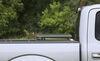 Lomax Hard Tonneau Cover - Folding - Aluminum - Matte Black Flush Profile AB1010019