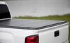 Lomax Hard Tonneau Cover - Folding - Aluminum - Matte Black Tool-Free Removal AB1020029