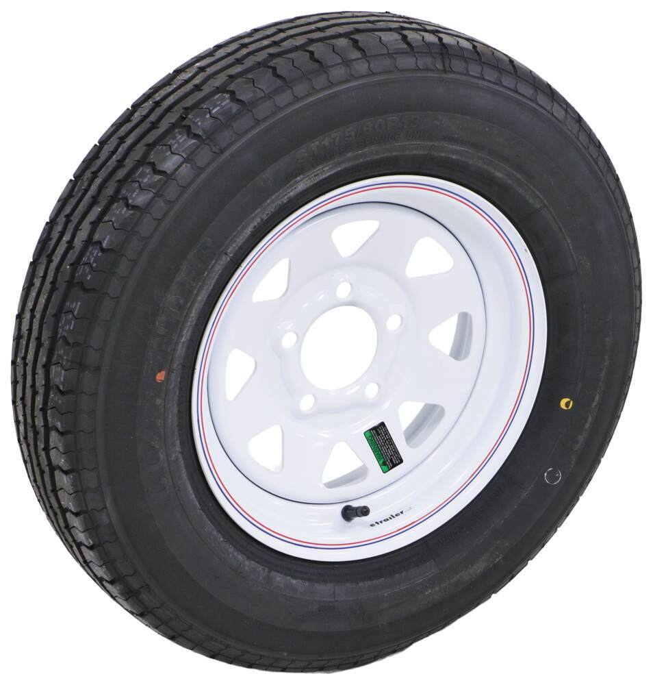 Taskmaster 5 on 4-1/2 Inch Trailer Tires and Wheels - AC13R45WSQ