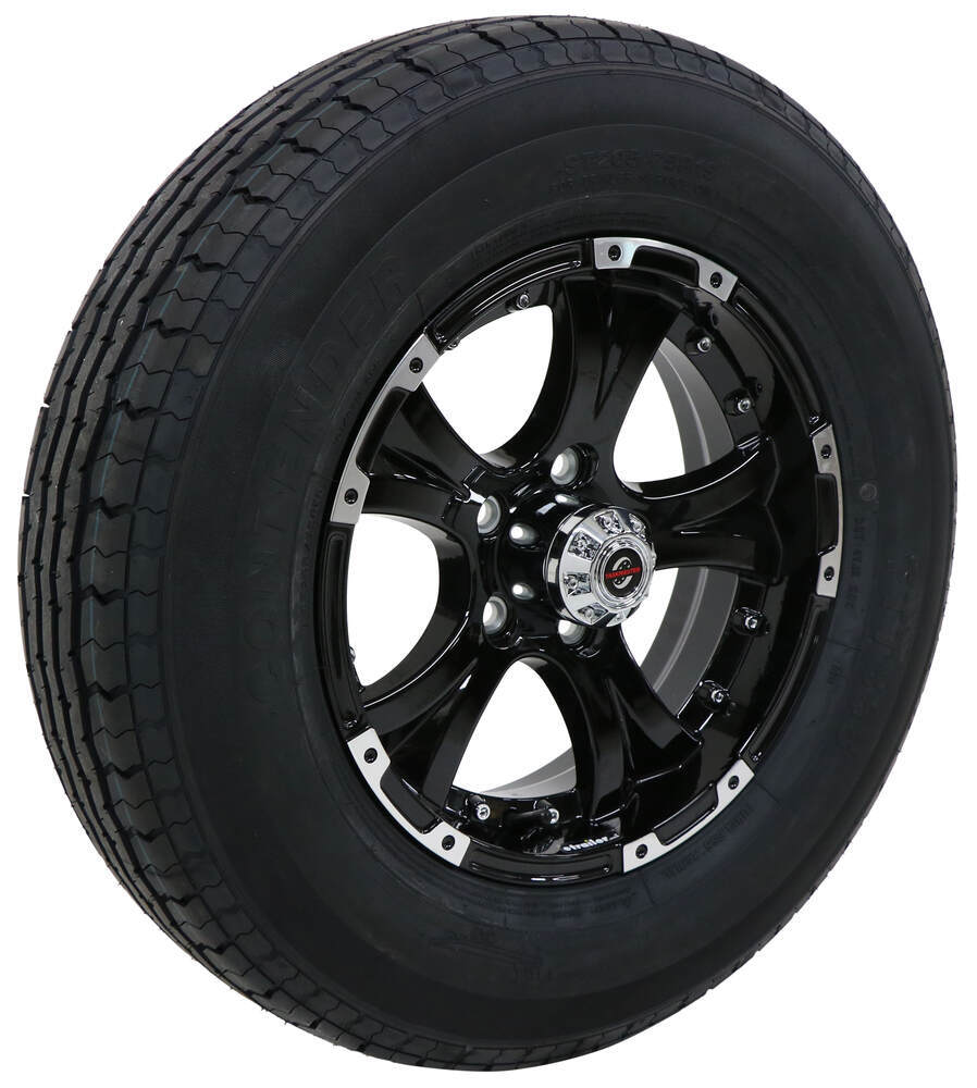 Taskmaster 205/75-15 Trailer Tires and Wheels - AC15R45BML
