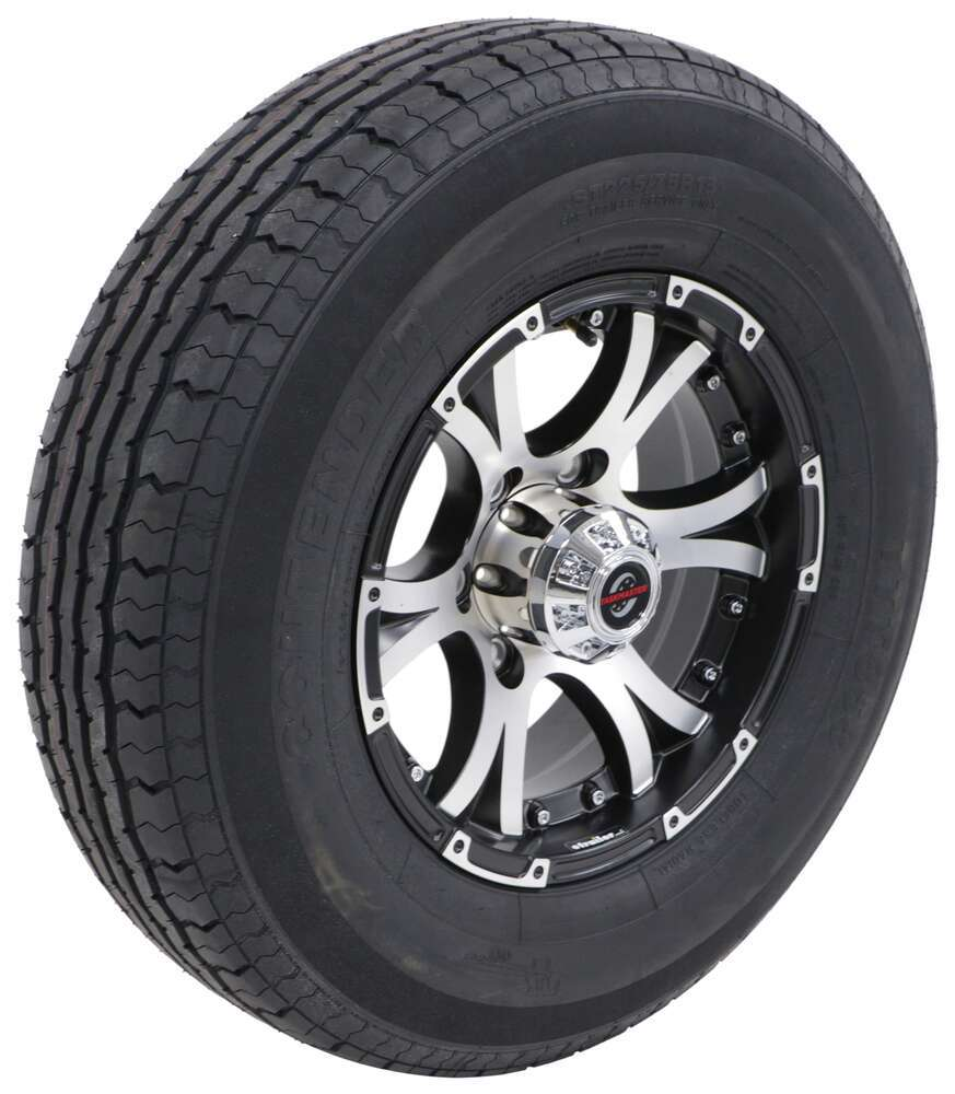 Trailer Tires and Wheels AC225R6BMMFL - Load Range D - Taskmaster