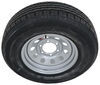 taskmaster trailer tires and wheels tire with wheel 15 inch contender st225/75r15 radial w/ silver mod - 6 on 5-1/2 load range e