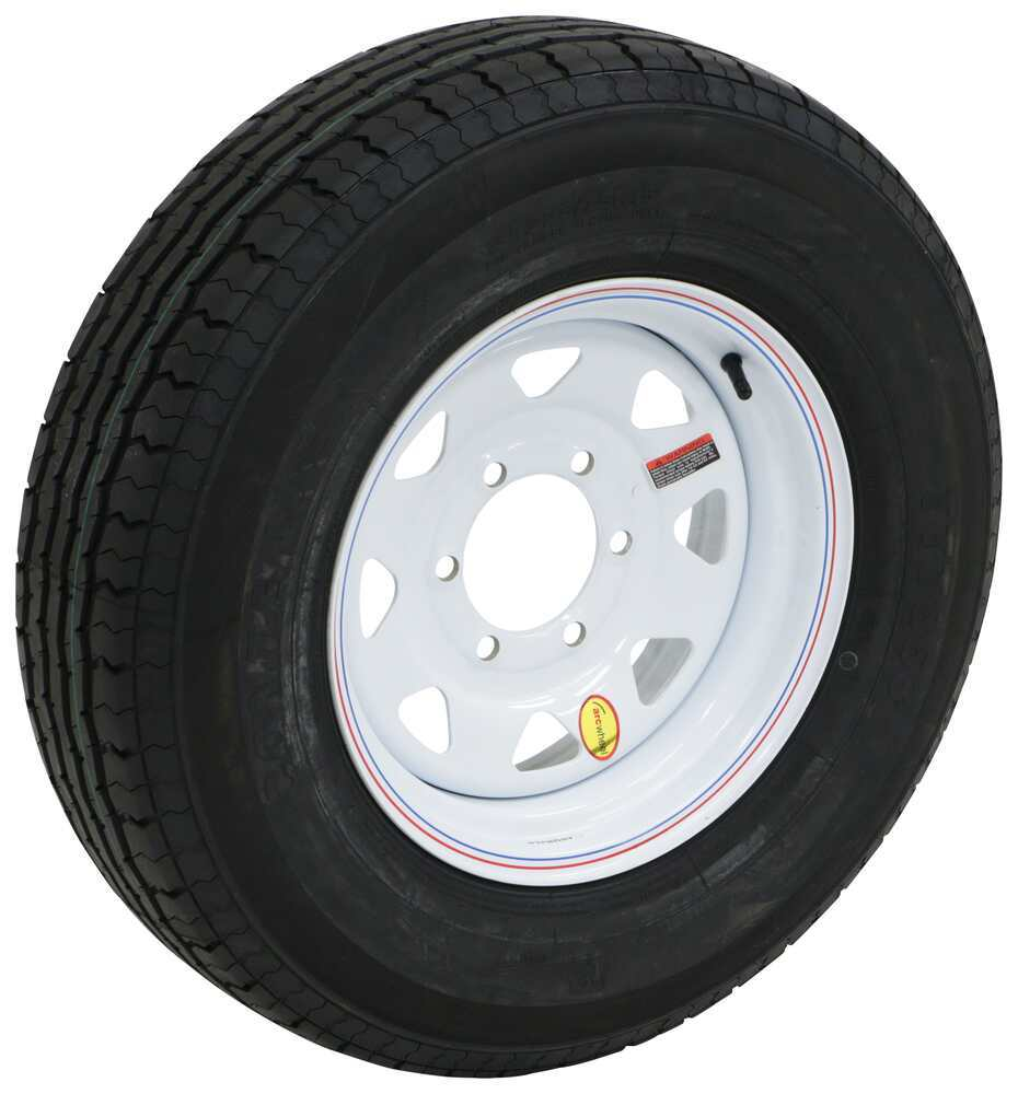 AC225R6WSE - 225/75-15 Taskmaster Trailer Tires and Wheels