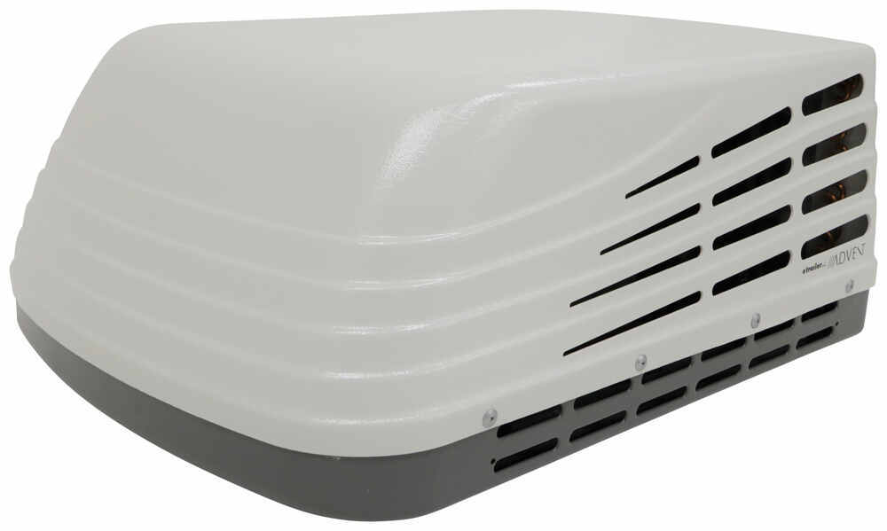 Advent Air Replacement RV Air Conditioner for Dometic Setup w/ Start Capacitor - 13,500 Btu - White White ACDOM135