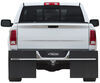access mud flaps universal fit no-drill install roxter for full size trucks and suvs - 12 inch wide smooth finish