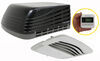 advent air rv conditioners system w thermostat conditioner w/ distribution box and wall - 15 000 btu black