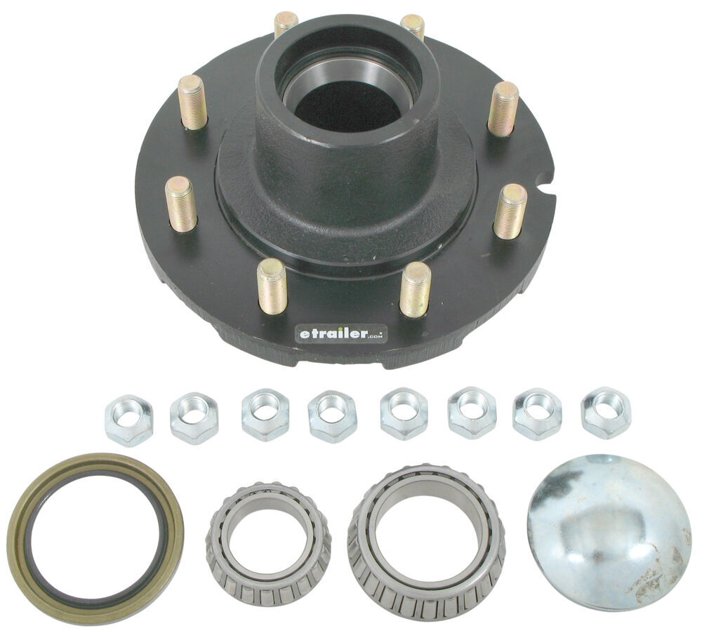 Redline For 6000 lbs Axles Trailer Hubs and Drums - AH60880FCOMP