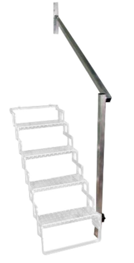 Aluminum Hand Rail for 5 Step Scissor Stair Folding Handrail AHR5