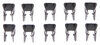 etrailer accessories and parts trailer brakes magnet clip replacement retaining clips for 10 inch 12 electric - qty