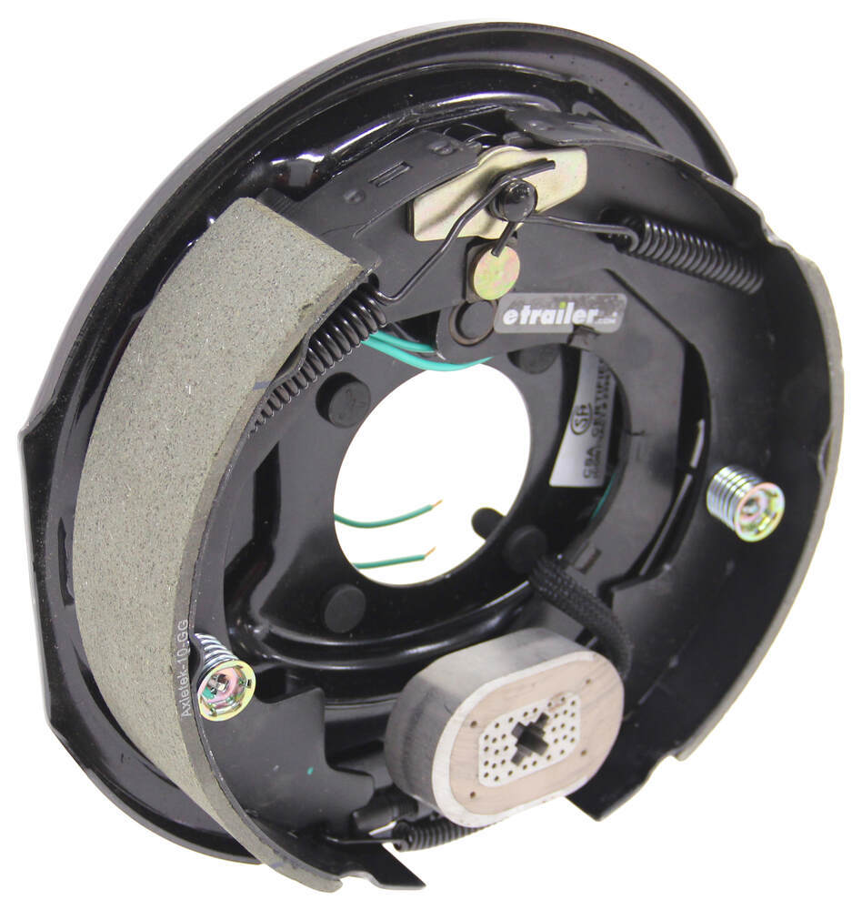 "Electric Trailer Brake Assembly - 10"" - Right Hand - 3,500 lbs Manual Adjust AKEBRK-35R"