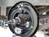 """Electric Trailer Brake Assembly - 12"""" - Left Hand - 5,200 lbs to 7,000 lbs Manual Adjust AKEBRK-6L"""