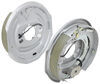 "Electric Trailer Brake Kit - Dacromet - 12"" - Left and Right Hand Assemblies - 5.2K to 7K Brake Set AKEBRK-7-D"