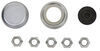 """Trailer Hub and Drum Assembly - 2K E-Z Lube Axles - 7"""" - 5 on 4-1/2 - L44643 - Pre-Greased L44643 AKHD-545-2-EZ-1K"""