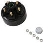 etrailer trailer hubs and drums hub with integrated drum for 2000 lbs axles akhd-545-2-1k