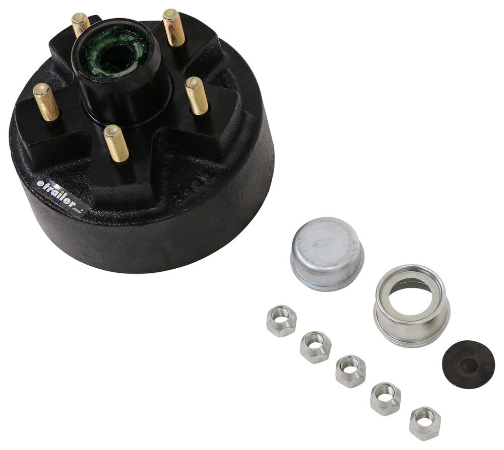 AKHD-545-2-EZ-2K - EZ Lube etrailer Hub with Integrated Drum