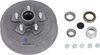 "Trailer Hub/Drum Assembly - 3,500-lb E-Z Lube Axles - 10"" Diameter - 5 on 4-1/2 - Galvanized L68149 AKHD-545-35-G-EZ-K"