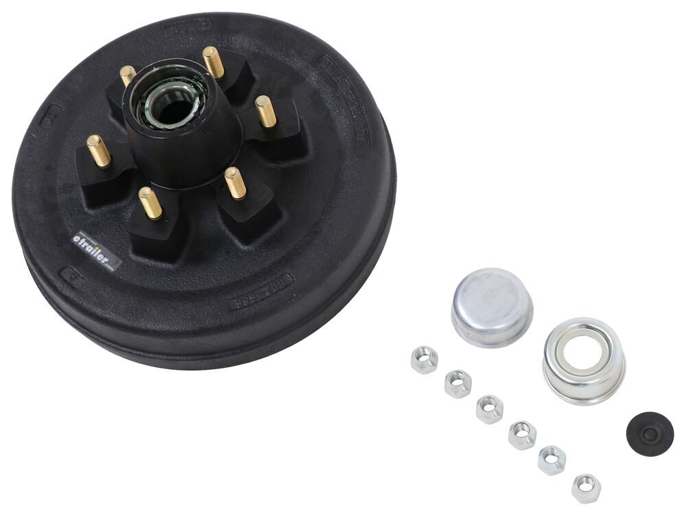 etrailer Hub with Integrated Drum - AKHD-655-6-EZ-K