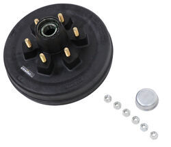 Posi-Lube Grease Cap Set Galvanized Fits Most 5,200 lb Axles 2.44 OD
