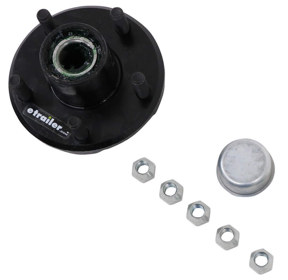 etrailer 8 Inch Wheel,10 Inch Wheel,12 Inch Wheel Trailer Hubs and Drums - AKIHUB-545-2-2K