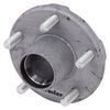 etrailer trailer hubs and drums hub 5 on 4-1/2 inch idler assembly for 2 000-lb e-z lube axles - galvanized