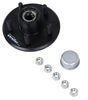etrailer 1/2 Inch Stud Trailer Hubs and Drums - AKIHUB-545-2-LF-1K
