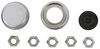 etrailer trailer hubs and drums hub 5 on 5-1/2 inch easy grease idler assembly for 3.5k axles - pre-greased