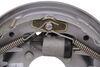 "Hydraulic Trailer Brake - Uni-Servo - Dacromet - 10"" - Right Hand - 3,500 lbs Single Servo AKUBRK-35R-D"