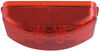 Miro-Flex Mini LED Clearance or Side Marker Light - Submersible - 3 Diodes - Rectangle - Red Lens Submersible Lights AL191RB