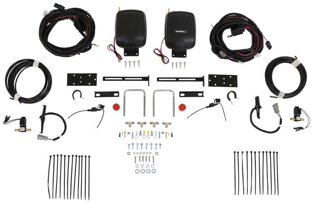 Air Lift Air Suspension Compressor Kit - AL25491