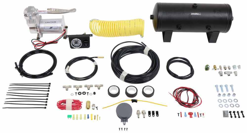 AL25690 - Analog Display Air Lift Air Suspension Compressor Kit