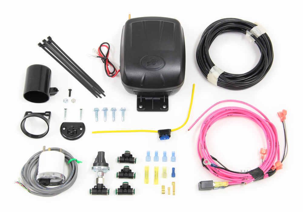 Air Lift Load Controller Compressor System for Air Helper Springs - Standard Duty - Single Path Analog Display AL25850