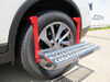 Powerbuilt Adjustable Tire Step for SUVs, RVs, and Trucks - 300 lbs Fold-Up Step ALL647596