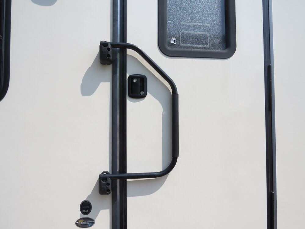 Stromberg Carlson AM-300 RV Trailer Camper A Lend A Hand Door Handle Aluminum