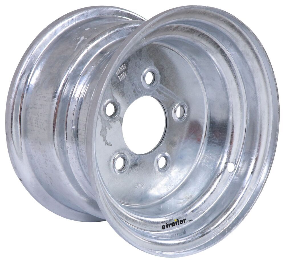 Trailer Tires and Wheels AM20048 - Steel Wheels - Galvanized,Boat Trailer Wheels - Americana