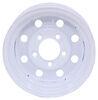 "Dexstar Steel Mini Mod Trailer Wheel - 12"" x 4"" Rim - 5 on 4-1/2 - White Powder Coat Steel Wheels - Powder Coat AM20151"