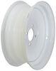 dexstar trailer tires and wheels 13 inch 4 on solid center steel wheel - x 4-1/2 rim white powder coat
