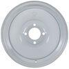 dexstar trailer tires and wheels wheel only 13 inch solid center steel - x 4-1/2 rim 4 on white powder coat