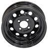 dexstar trailer tires and wheels wheel only 4 on inch steel mini mod - 13 x 4-1/2 rim black