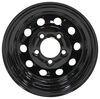 dexstar trailer tires and wheels wheel only 5 on 4-1/2 inch steel mini mod - 13 x rim black