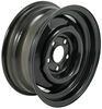 dexstar trailer tires and wheels 14 inch 5 on 4-1/2 conventional steel wheel with offset - x 5-1/2 rim black