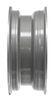 dexstar trailer tires and wheels wheel only steel mini mod - 14 inch x 5-1/2 rim 5 on 4-1/2 silver powder coat