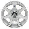 """Aluminum Hi-Spec Series 6 Trailer Wheel - 15"""" x 5"""" Rim - 5 on 4-1/2 15 Inch AM20455"""