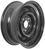 dexstar trailer tires and wheels 15 inch 5 on 4-1/2 conventional steel wheel with offset - x 6 rim black