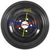 Trailer Tires and Wheels AM20504 - 15 Inch - Dexstar