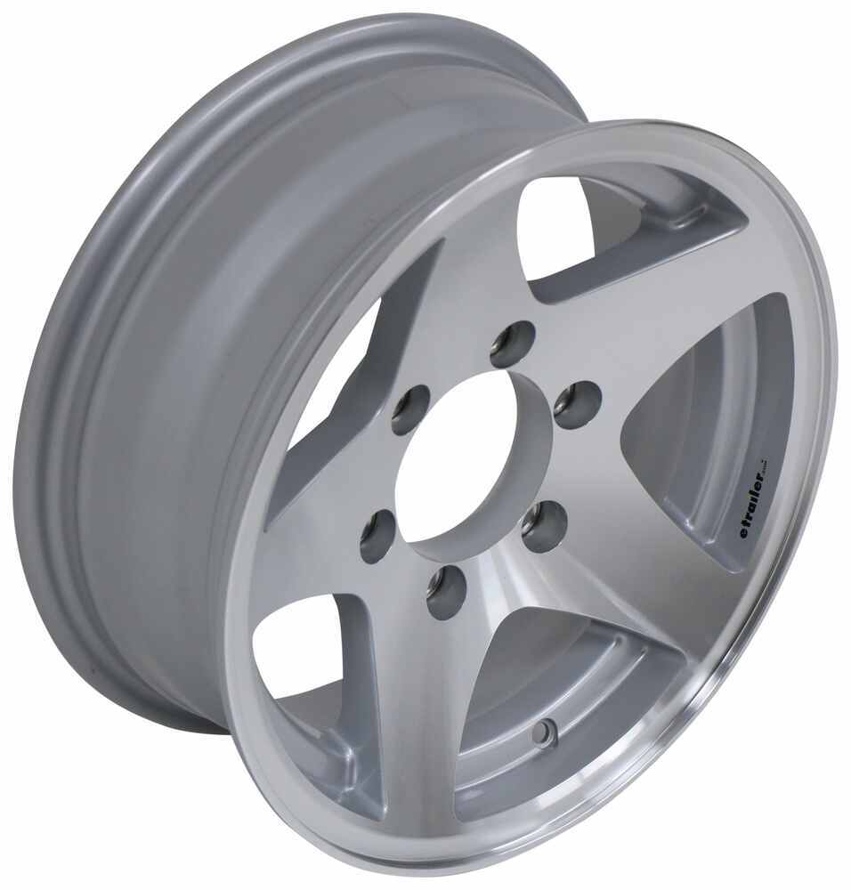 Trailer Tires and Wheels AM20516 - 6 on 5-1/2 Inch - HWT